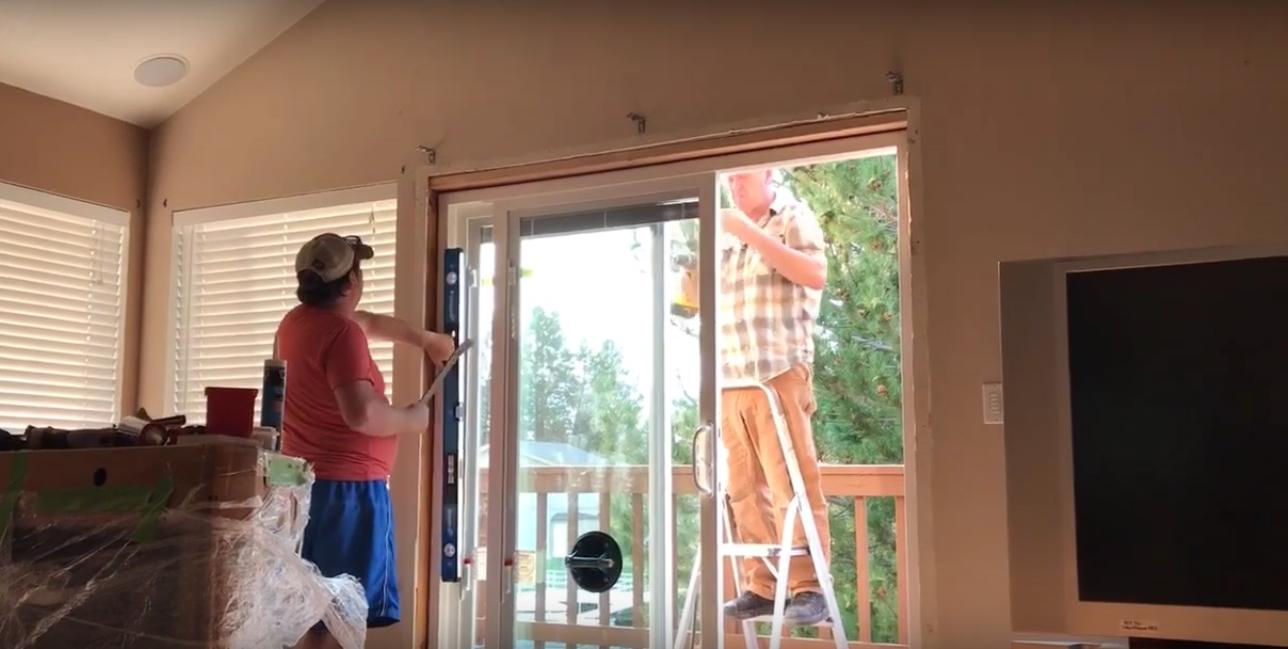 Sliding Glass Door Level