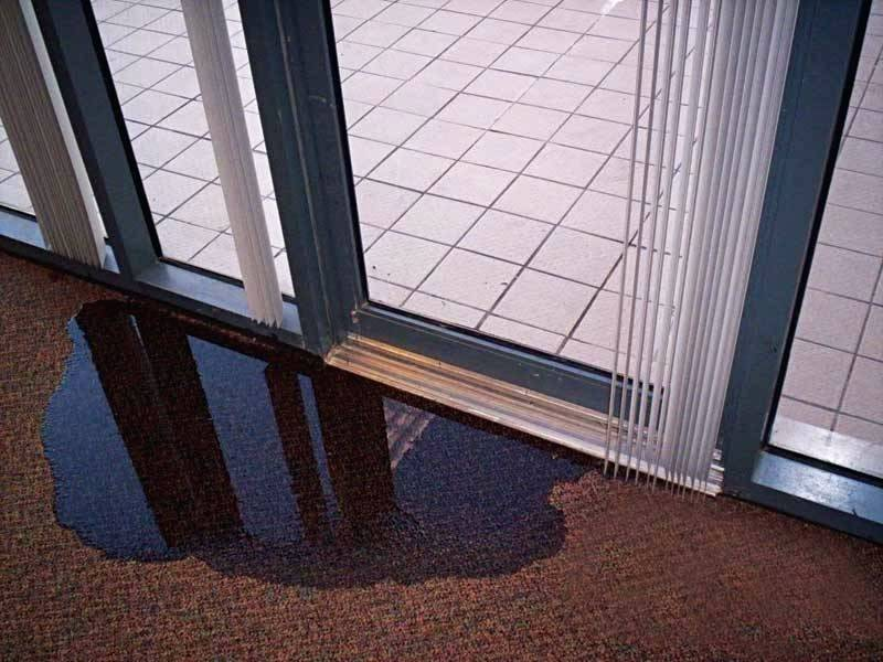 Weatherproofing of Sliding Glass Doors